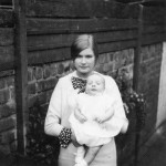 Aunt Brenda and Andrew c1965-6