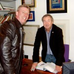 Meeting Nick Mason (Pink Floyd Drummer)
