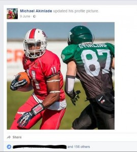 New Michael Akinade Profile